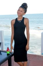ZENDAYA COLEMAN at a Party in Malibu