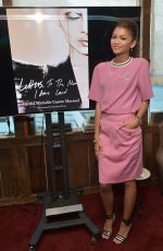 ZENDAYA COLEMAN at Letters to the Men I Have Loved Book Launch Dinner