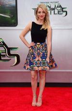 ABBY ELLIOTT at Teenage Mutant Ninja Turtles Premiere in Westwood
