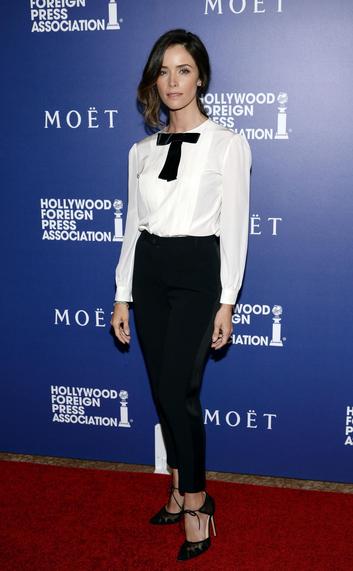 ABIGAIL SPENCER at Hollywood Foreign Press Association's Grants Banquet in Beverly Hills