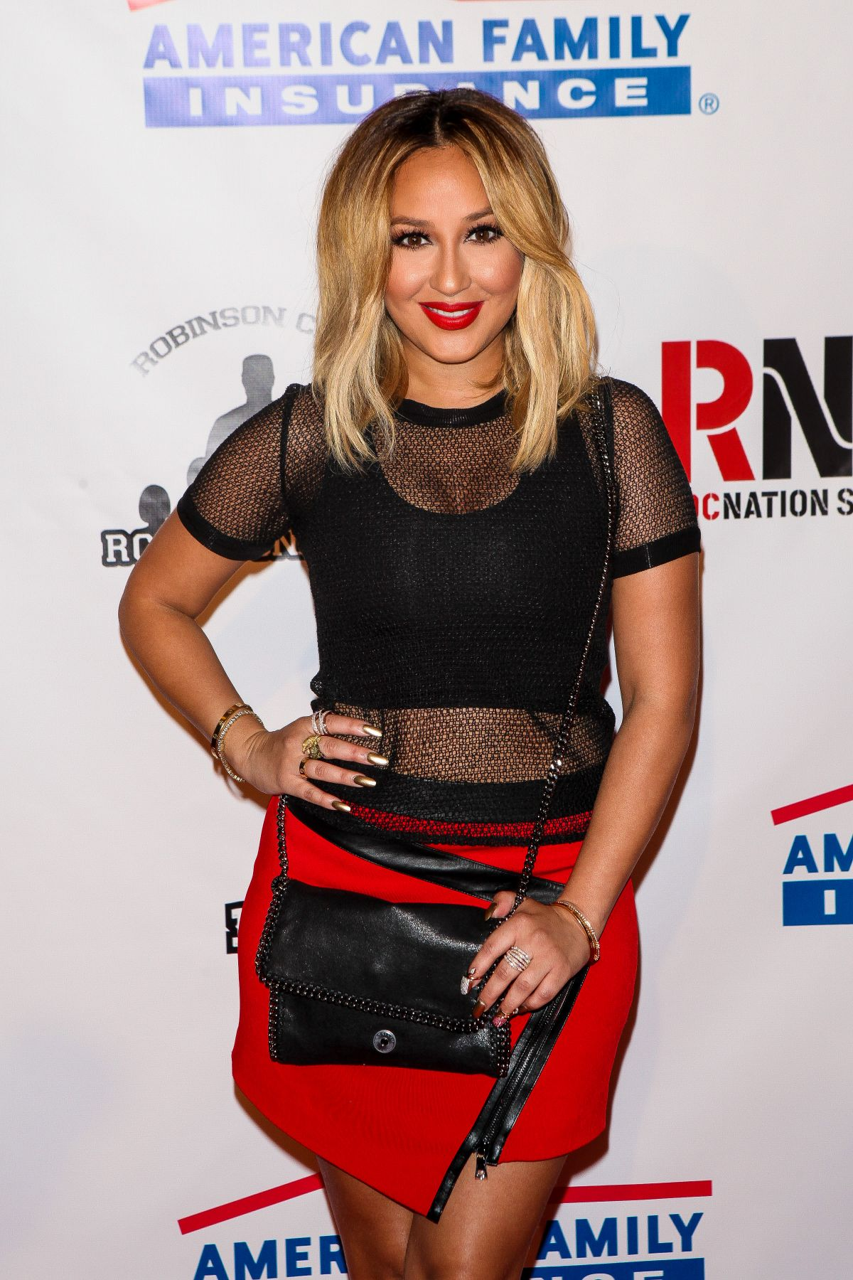 ADRIENNE BAILON at Summer Classic Charity Basketball in New York