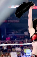 AJ LEE vs PAIGE - Divas Championship Match at WWE Summerslam in Los Angeles