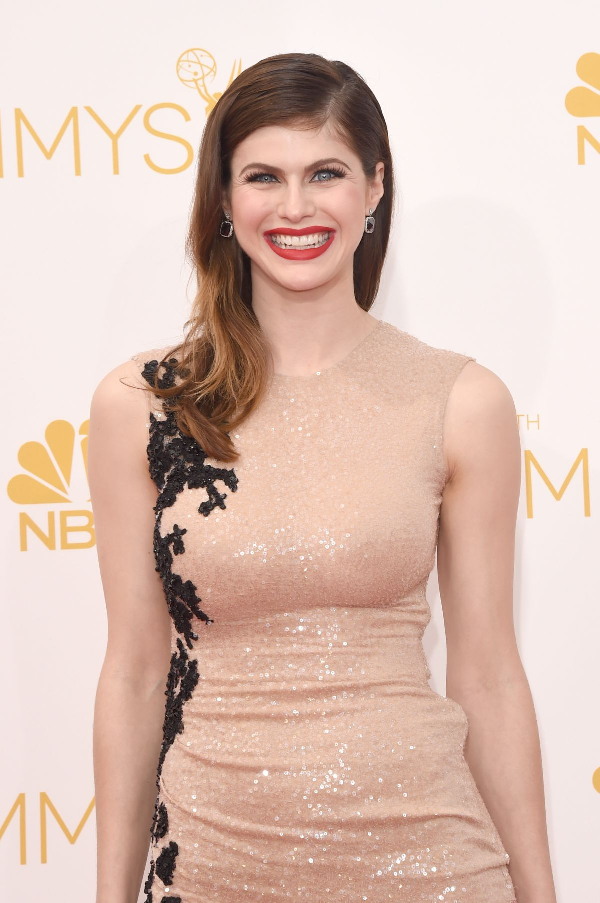 ALEXANDRA DADDARIO at 2014 Emmy Awards