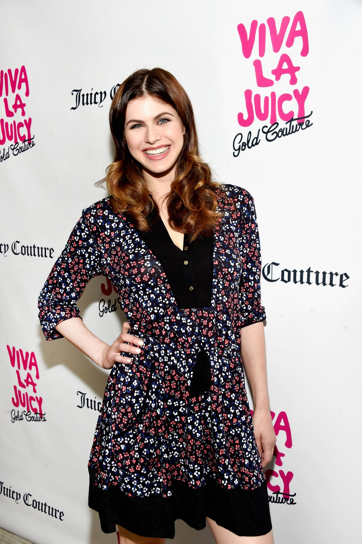 ALEXANDRA DADDARIO at Viva La Juicy Gold Couture Launch