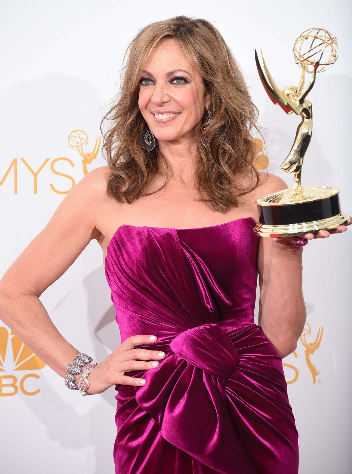 ALLISON JANNEY at 2014 Emmy Awards