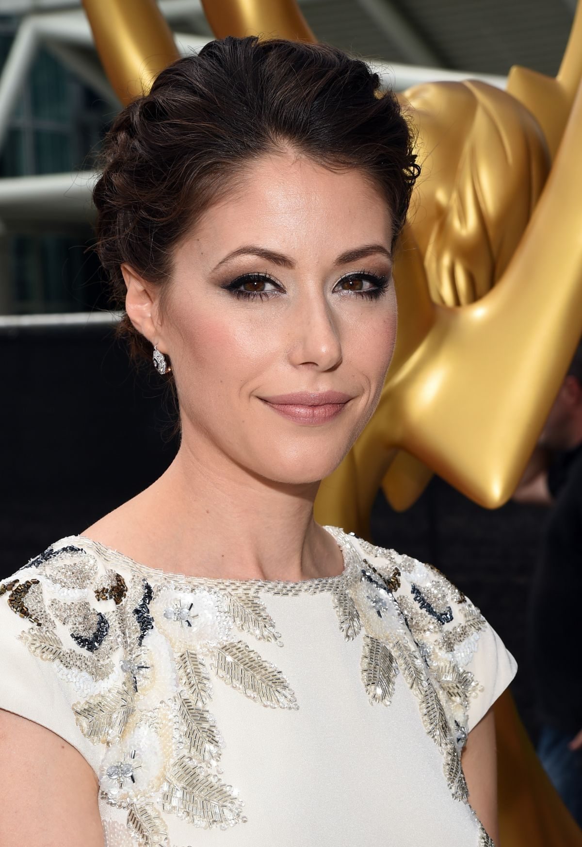 AMANDA CREW at 2014 Emmy Awards