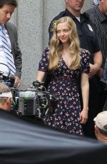 AMANDA SEYFRIED on the Set of Ted 2 in Boston