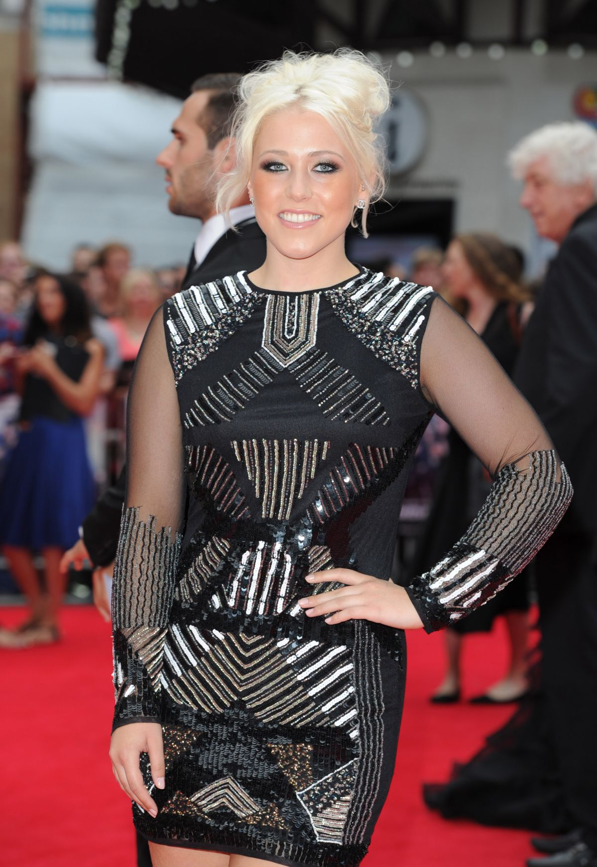 AMELIA LILY at The Expendables 3 Premiere in London