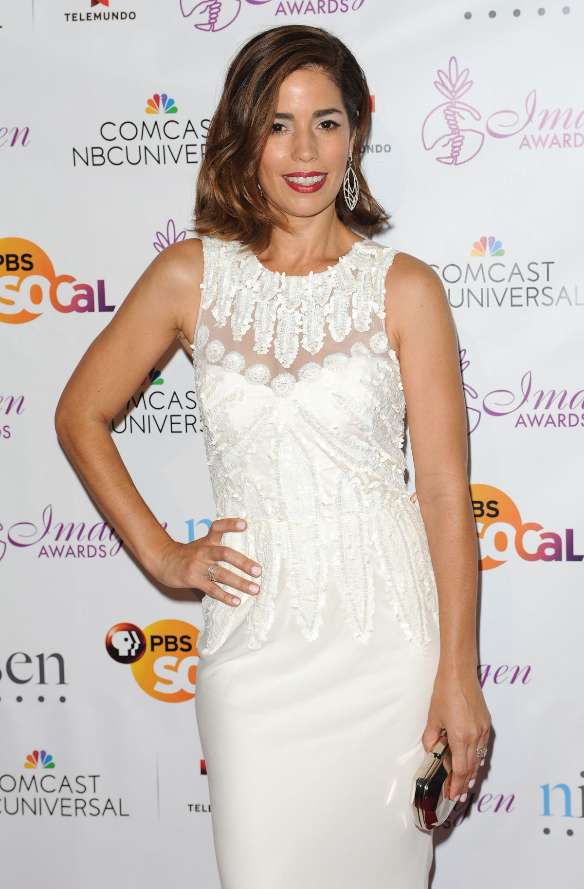 ANA ORTIZ at 2014 Imagen Awards in Beverly Hills