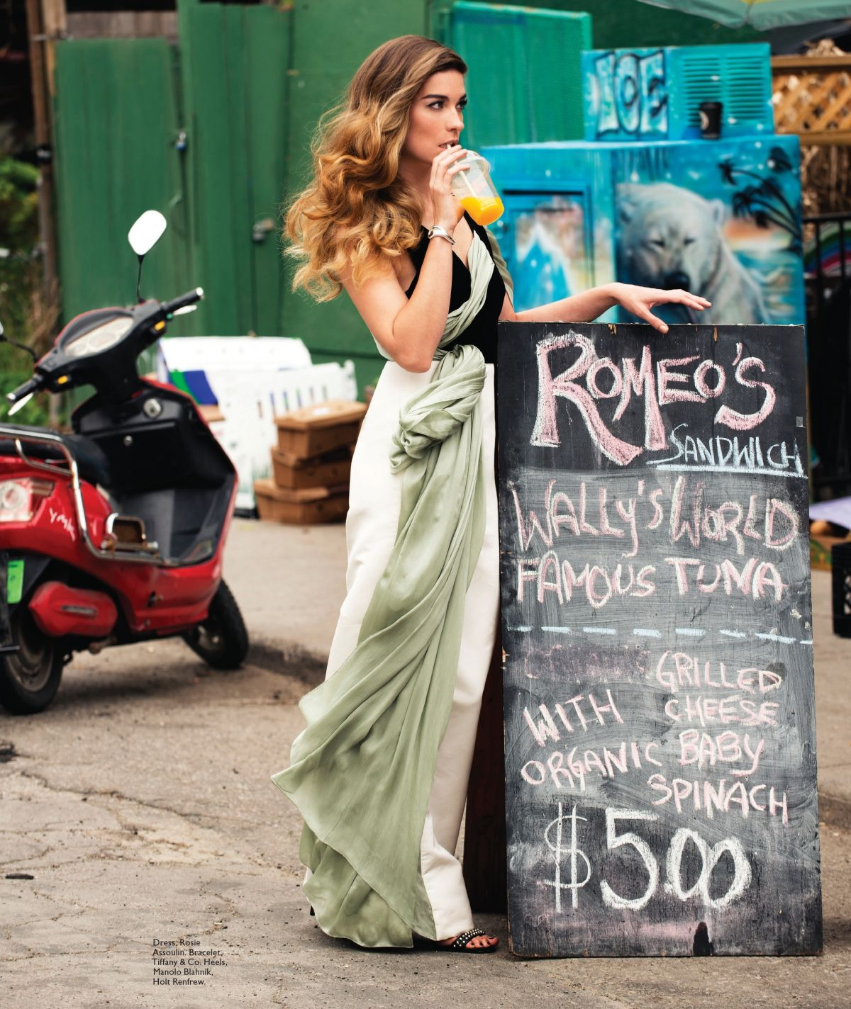 ANNIE MURPHY in Flare Magazine, September 2014 Issue