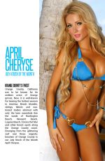 APRIL CHERYSE in Kandy Magazine, July 2014 Issue