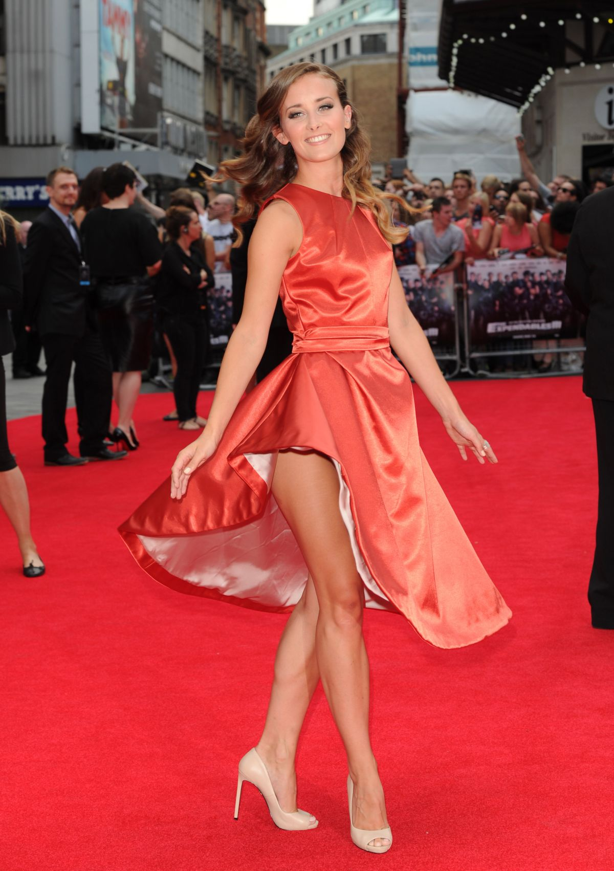 APRIL PEARSON at The Expendables 3 Premiere in London