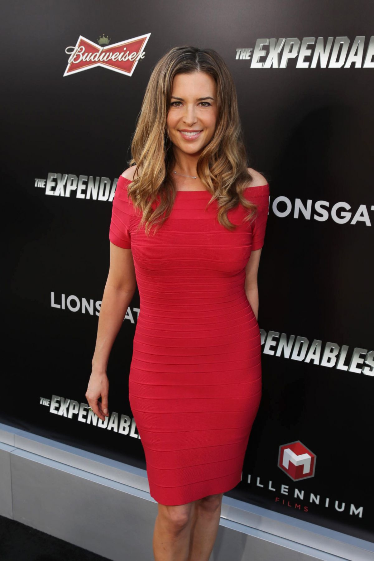 ASHLEY CUSATO at The Expendables 3 Premiere in Los Angeles