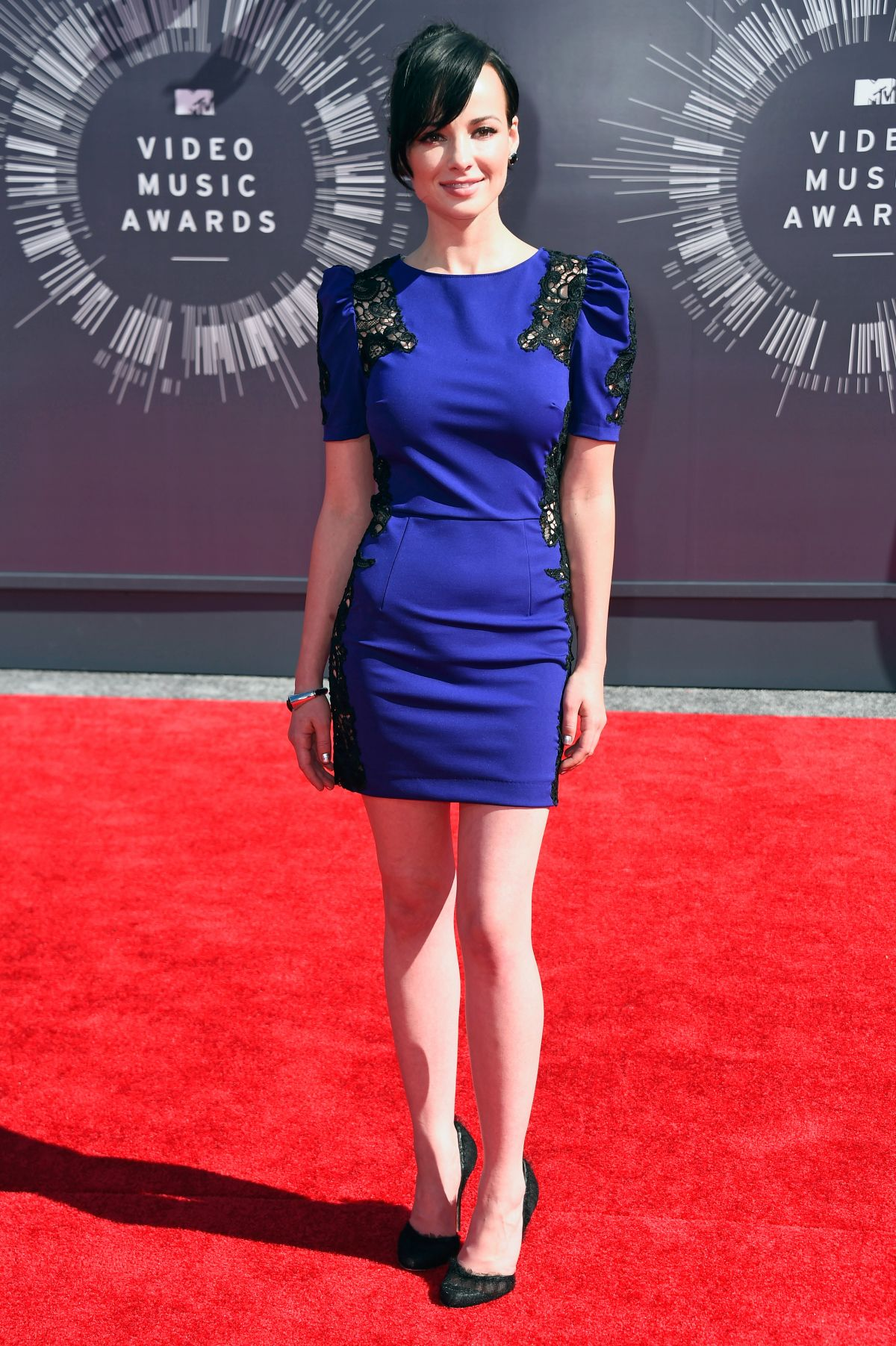 ASHLEY RICKARDS at 2014 MTV Video Music Awards