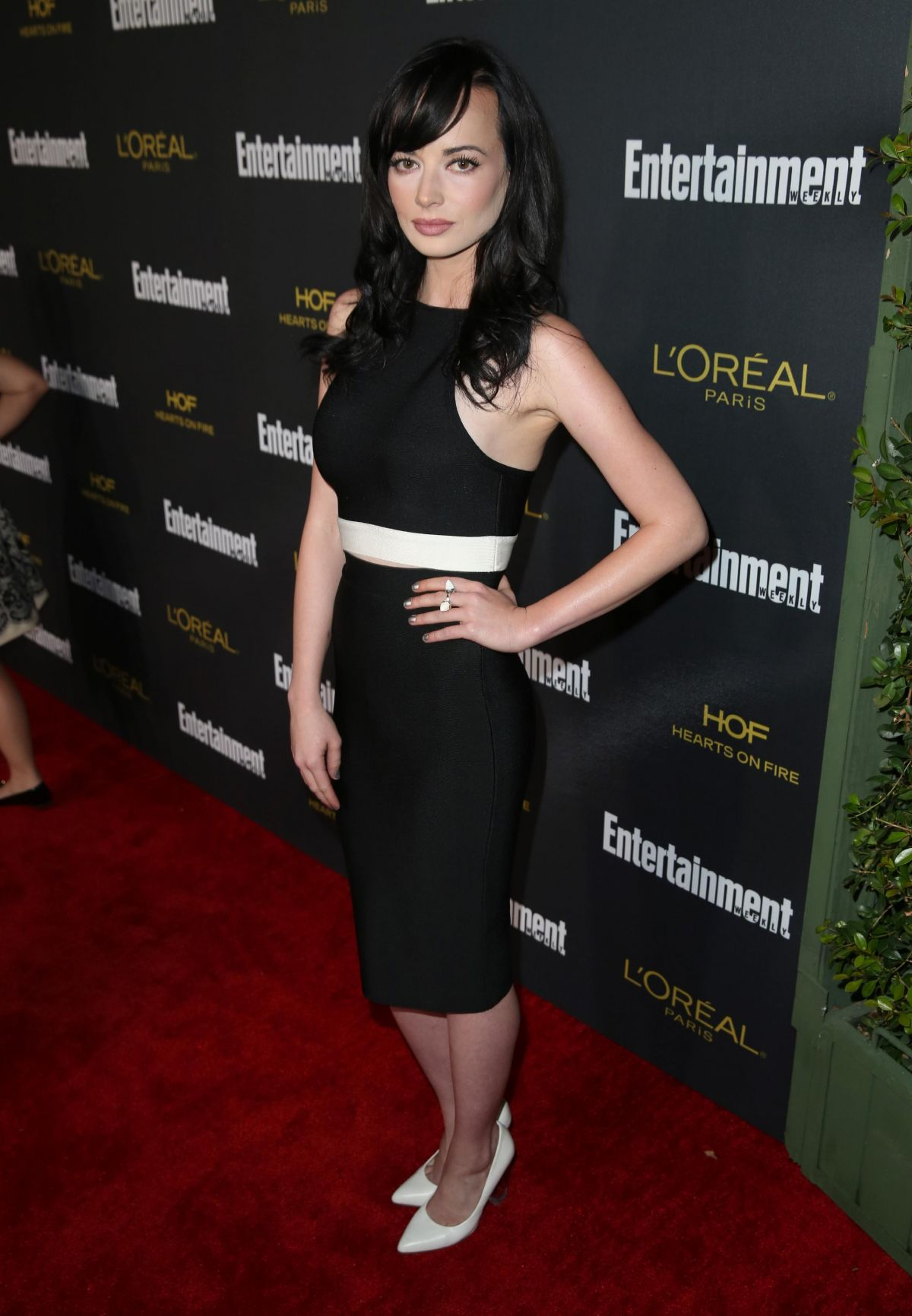ASHLEY RICKARDS at Entertainment Weekly's Pre-emmy Party ...
