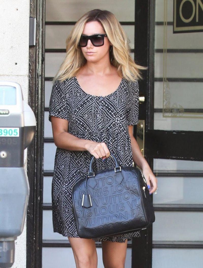 ASHLEY TISDALE Out and About in Los Angeles 2208
