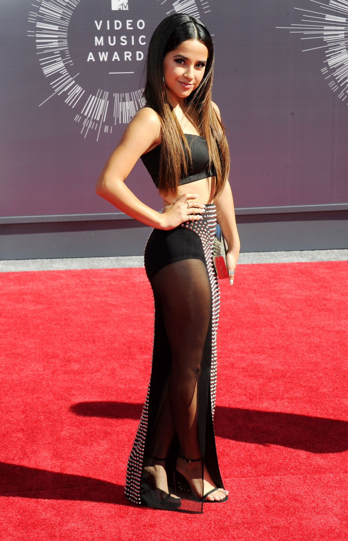 BECKY G at 2014 MTV Video Music Awards