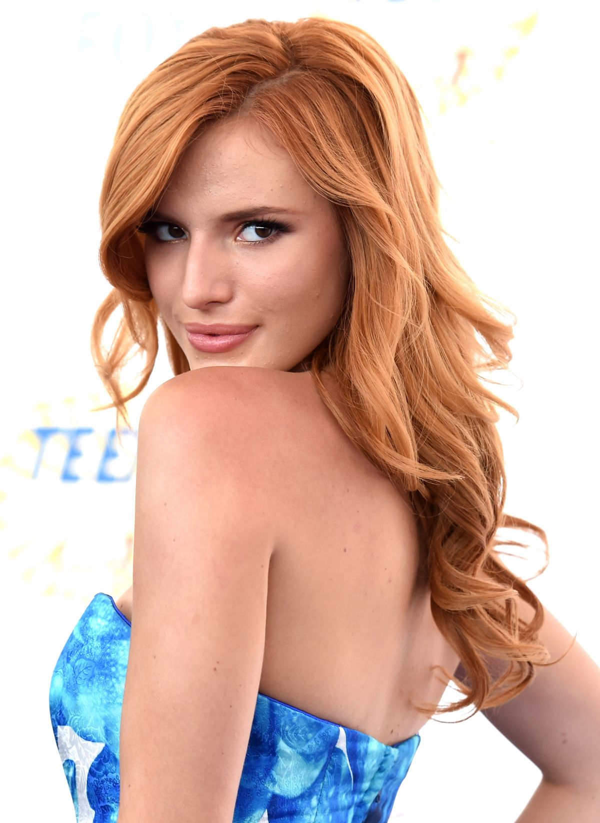 BELLA THORNE at Teen Choice Awards 2014 in Los Angeles