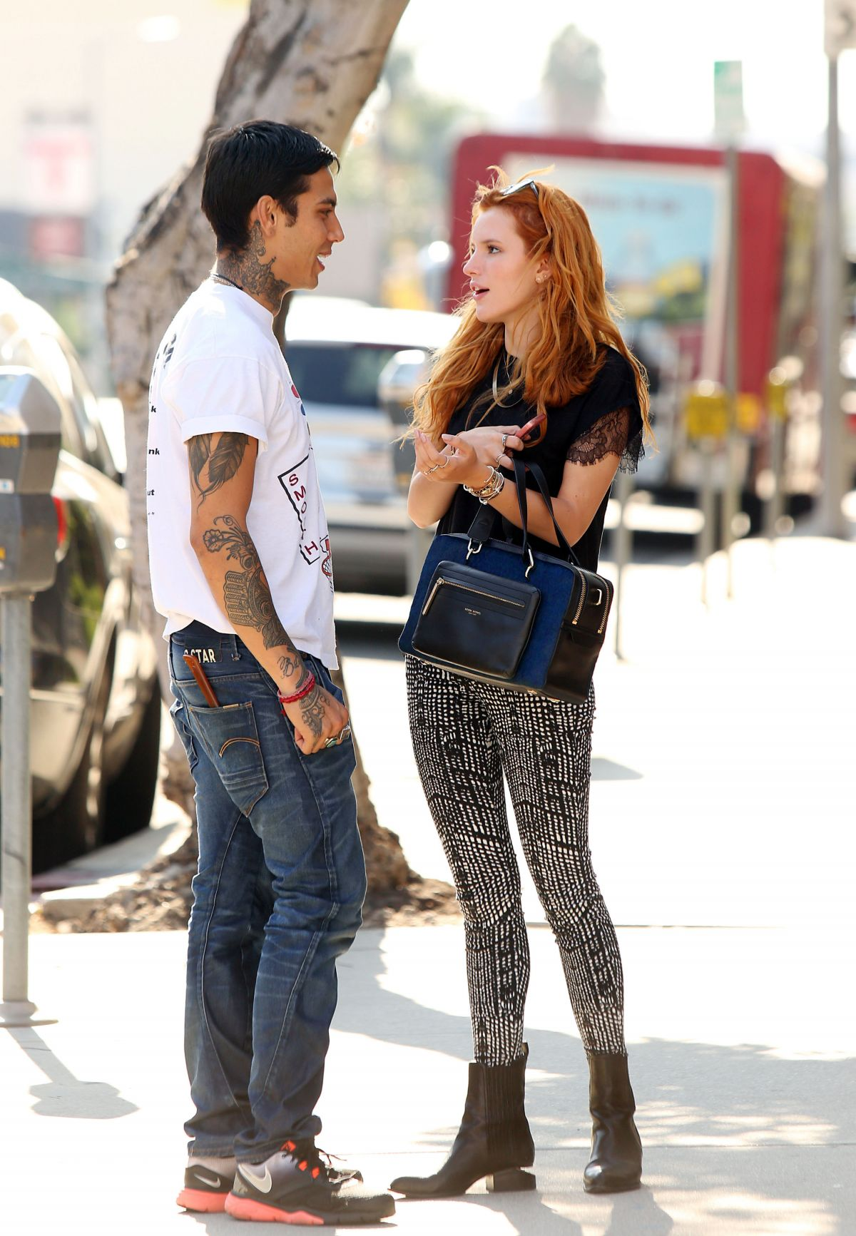 BELLA THORNE Out and Sbout in Los Angeles