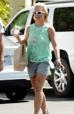 BRITNEY SPEARS and David Lucado Out for Lunch in Calabasas