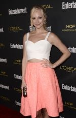 CANDICE ACOLA at Entertainment Weekly's Pre-emmy Party