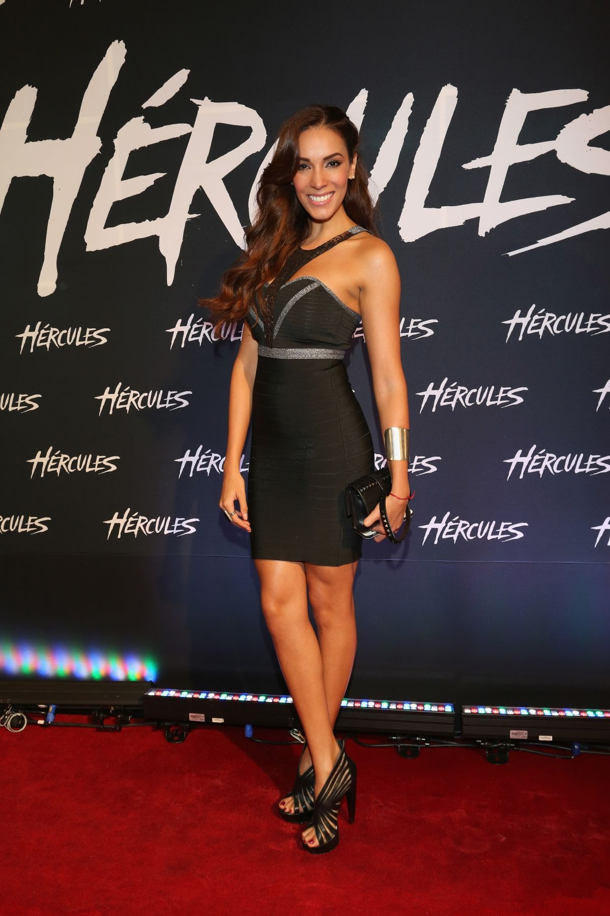 CAROLINA MORAN at Hercules Premiere in Mexico City