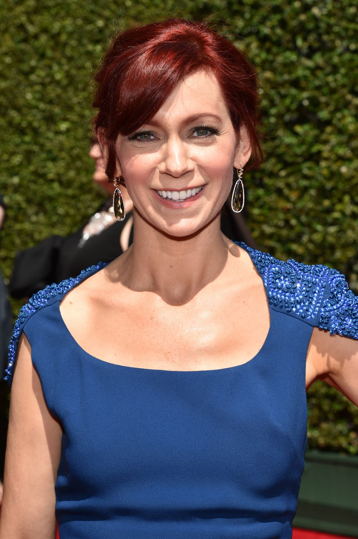CARRIE PRESTON at 2014 Creative Arts Emmy Awards in Los Angeles