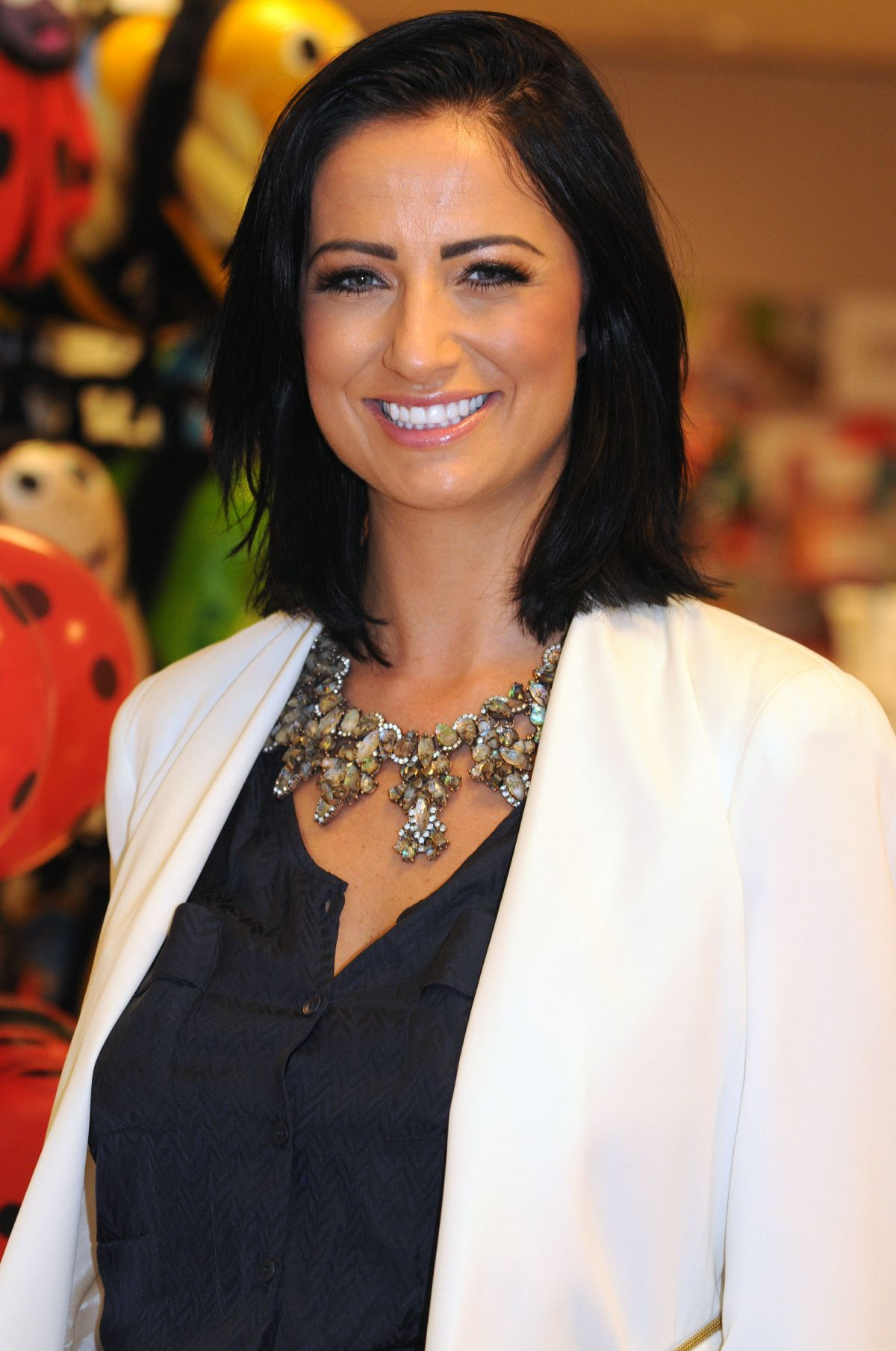 CHANTELLE HOUGHTON at Potties Launch in London