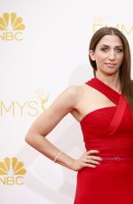 CHELSEA PERETTI at 2014 Emmy Awards