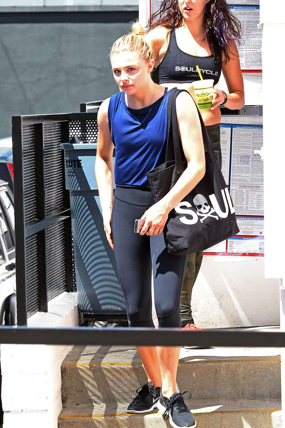 picture Chloe grace moretz in spandex leaving soul cycle in new york city
