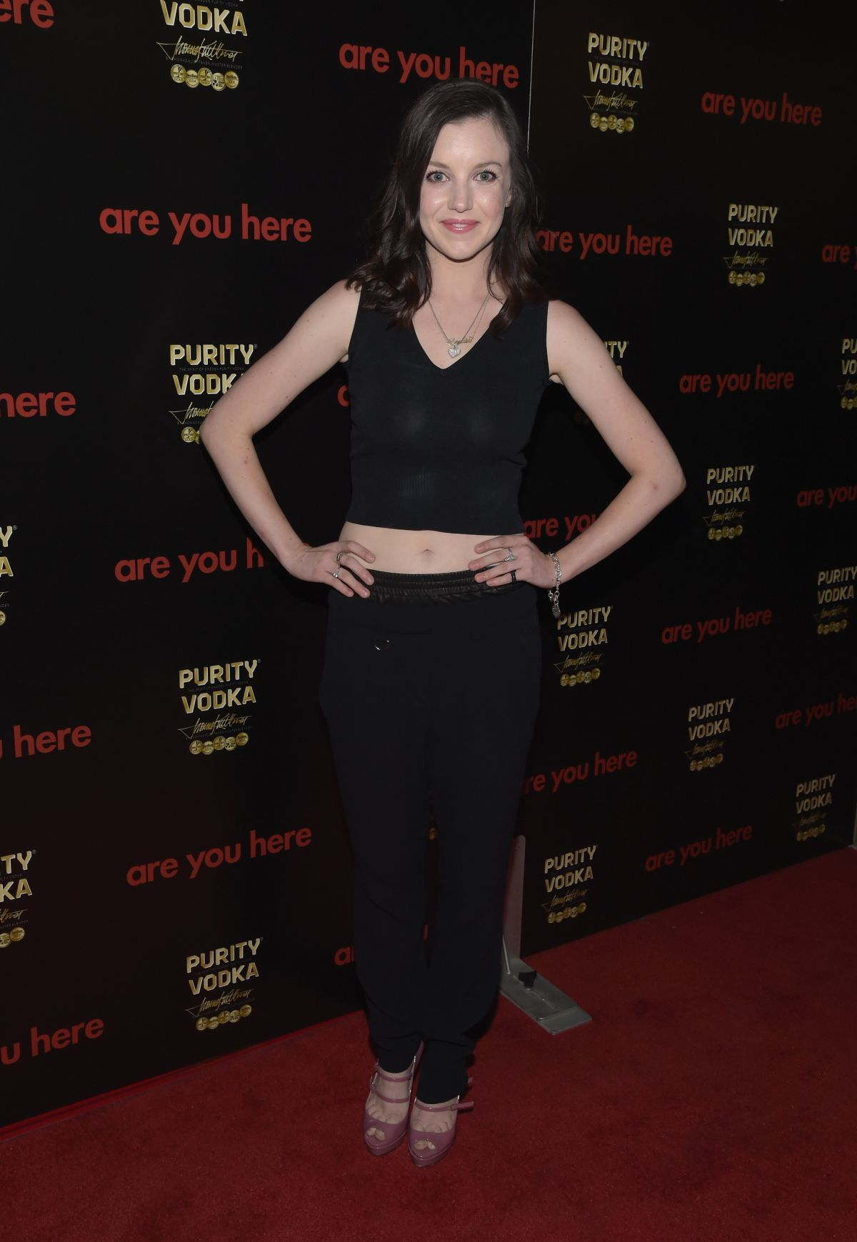 CLAUDIA LEVY at Are You Here Premiere in Los Angeles