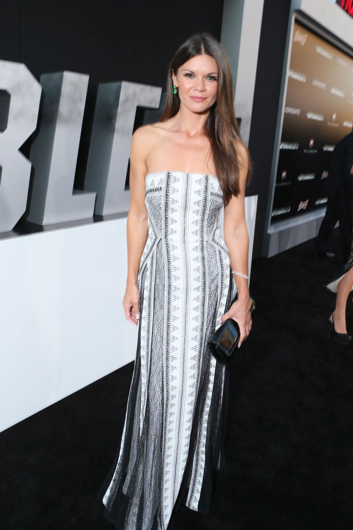 DANIELLE CASINOVA at The Expendables 3 Priemere in Los Angeles