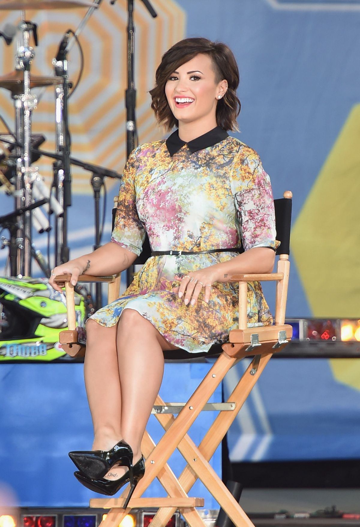 Good Morning America Nyc : Demi lovato at good morning america in new york hawtcelebs