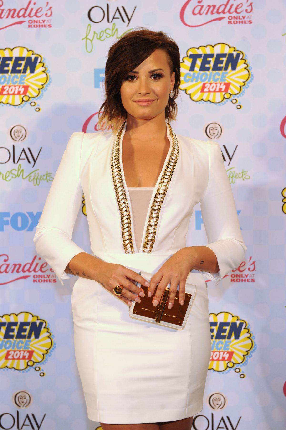 DEMI LOVATO at Teen Choice Awards 2014 in Los Angeles