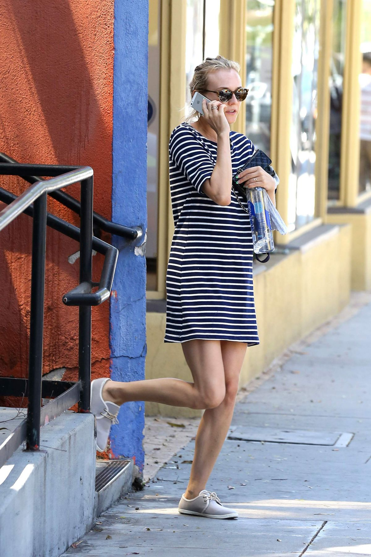 DIANE KRUGER Leaves Yoga Class in West Hollywood
