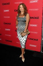 DINA MEYER at Sequestered and Cleaners Premieres in West Hollywood
