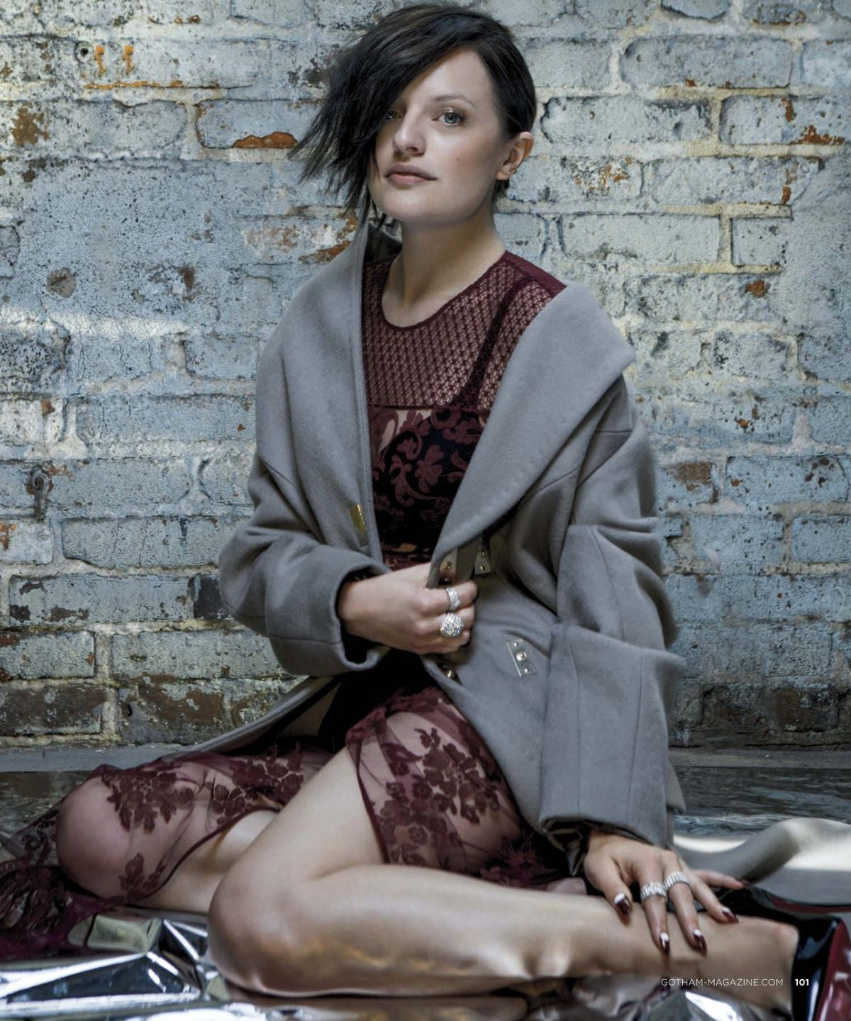 Elisabeth Moss In Gotham Magazine  September 2014 Issue