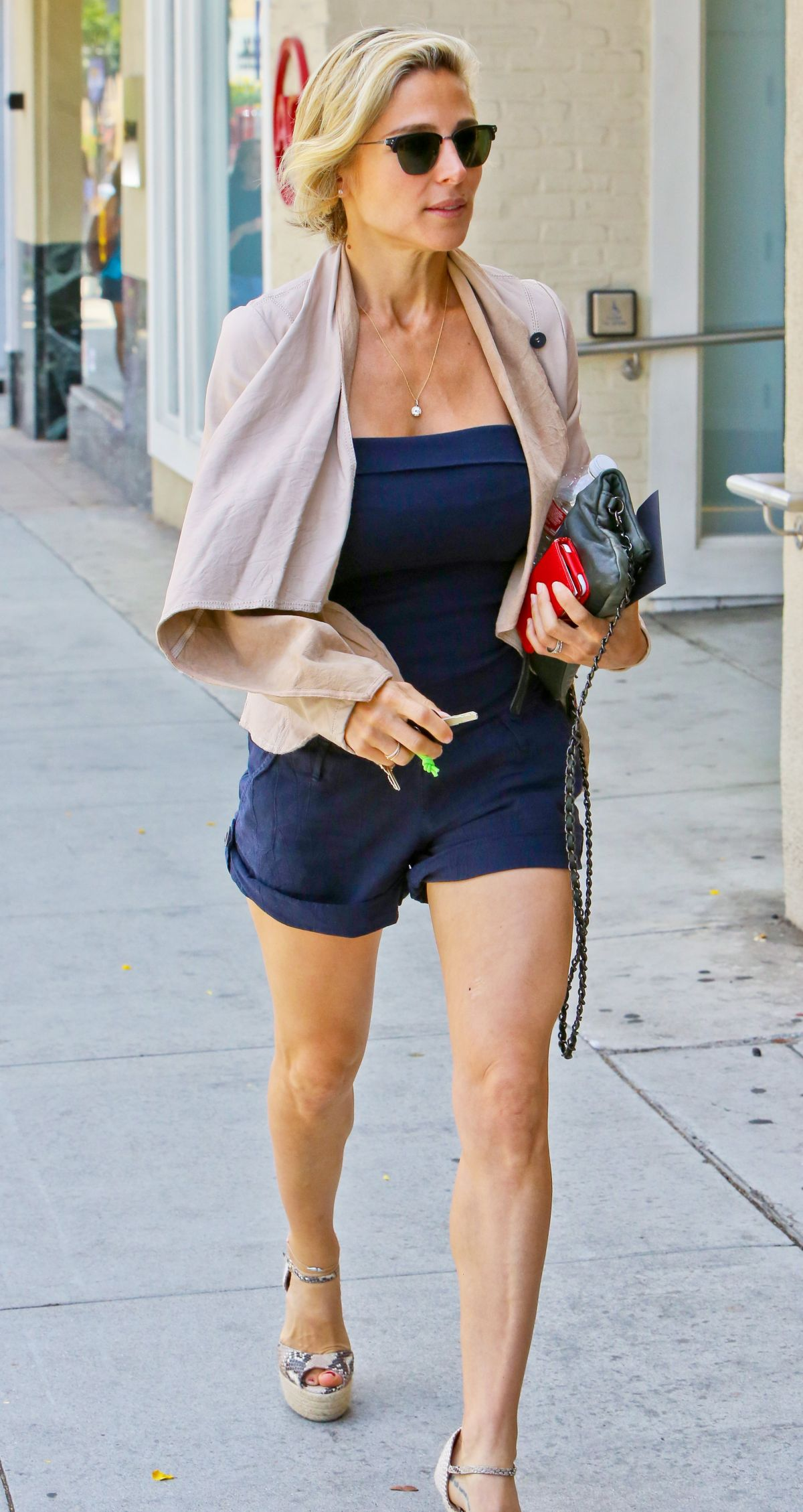 ELSA PATAKY Out Shopping in Beverly Hills