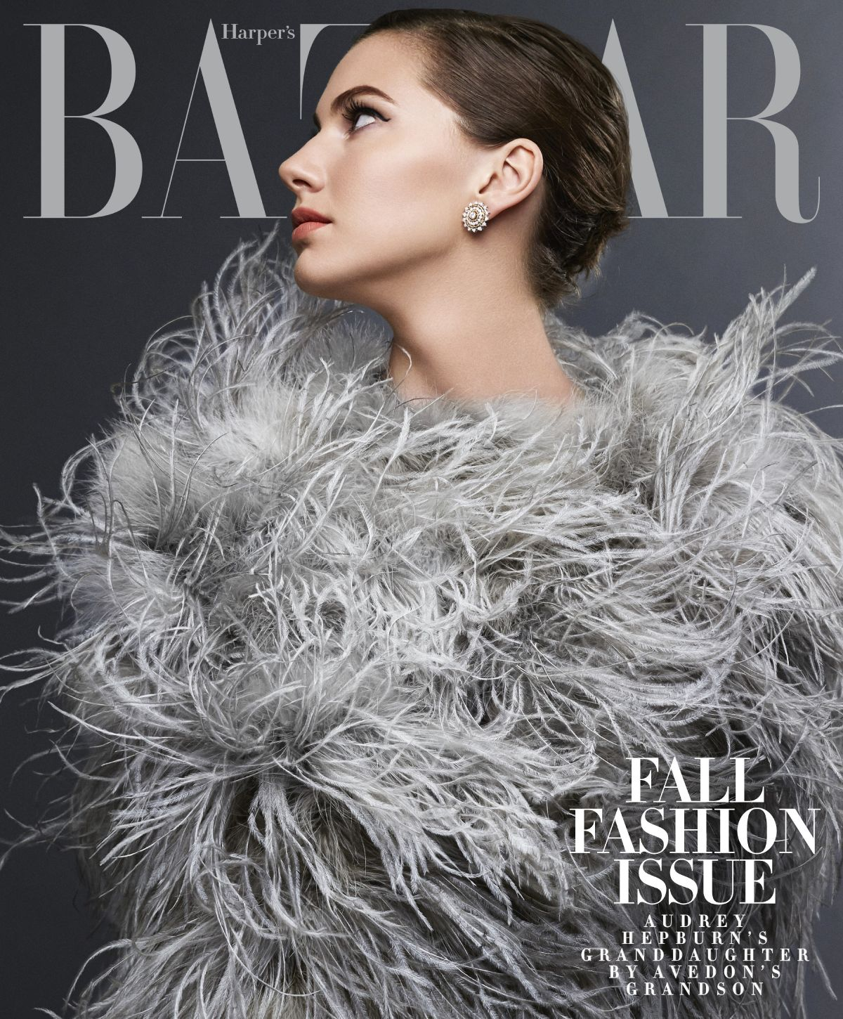 EMMA FERRER on the Cover of Harper