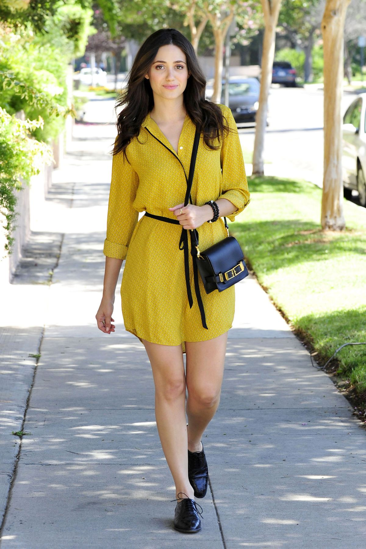 EMMY ROSSUM Out and About in Beverly Hills 1408