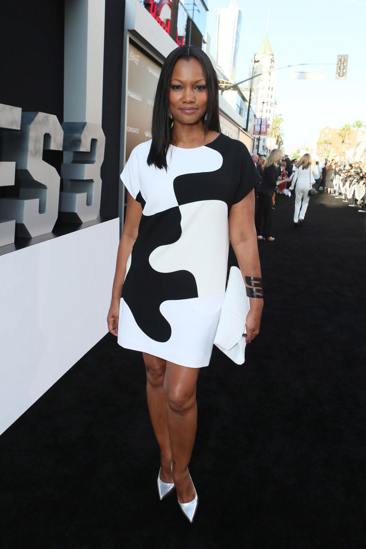 GARCELLE BEAUVAIS at The Expendables 3 Premiere in Los Angeles