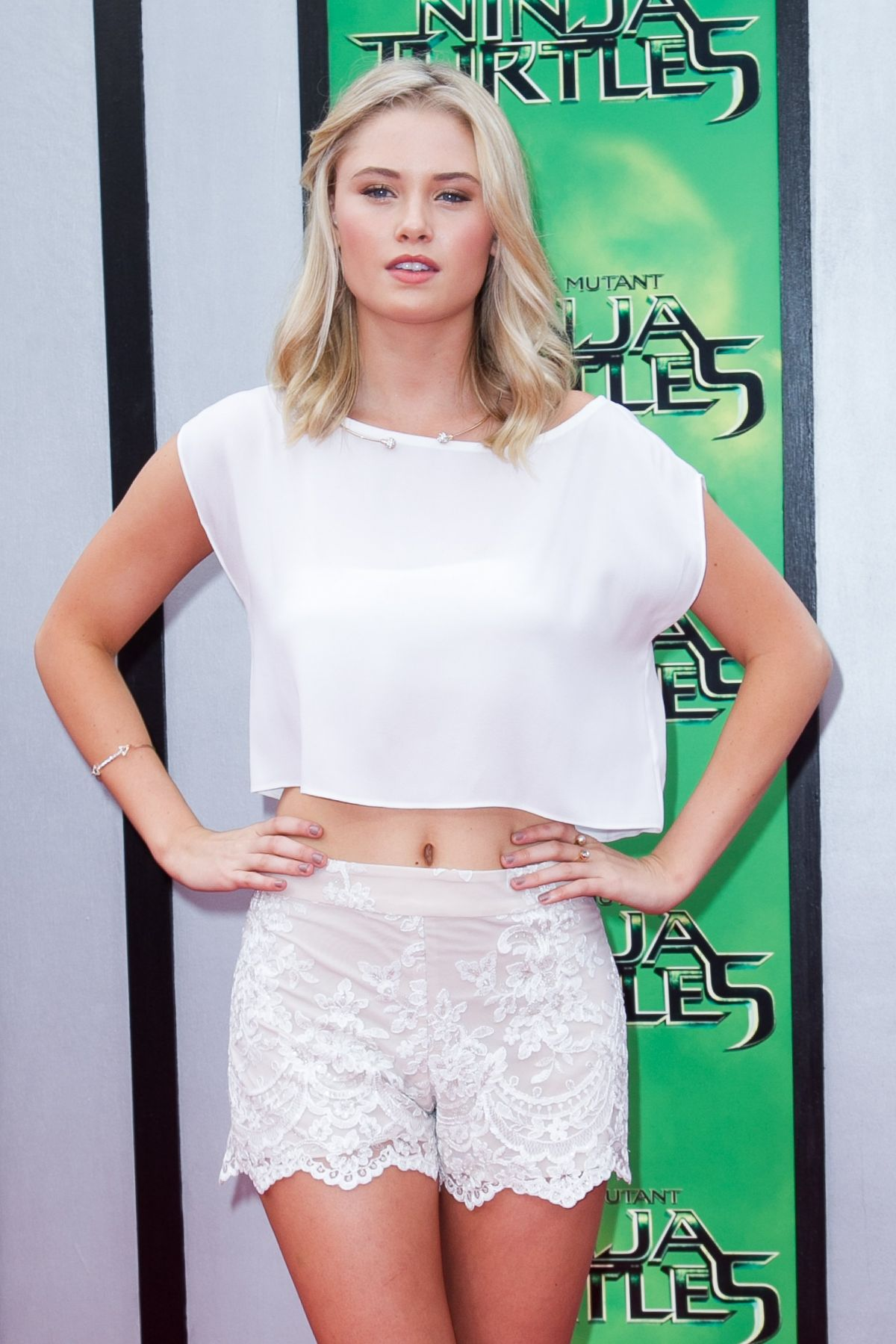 GINNY GARDNER at Teenage Mutant Ninja Turtles Premiere in Westwood