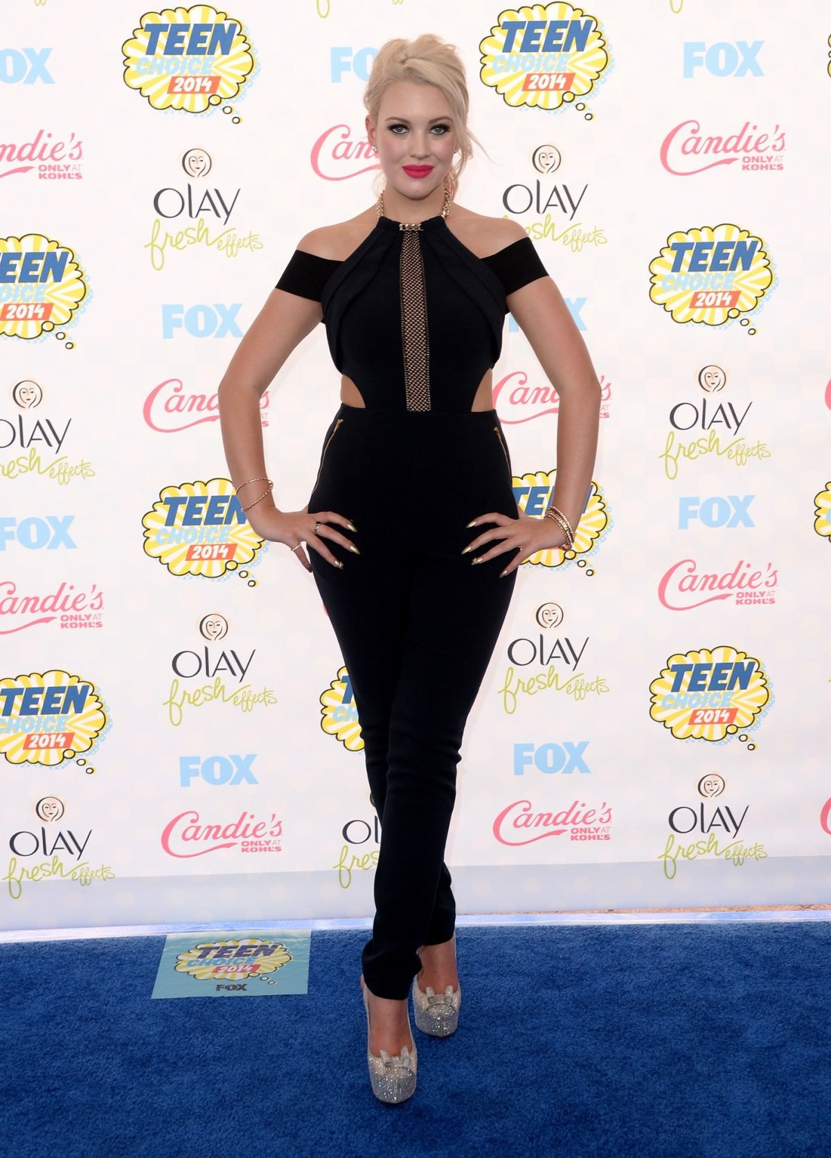 HAILET REESE at Teen Choice Awards 2014 in Los Angeles