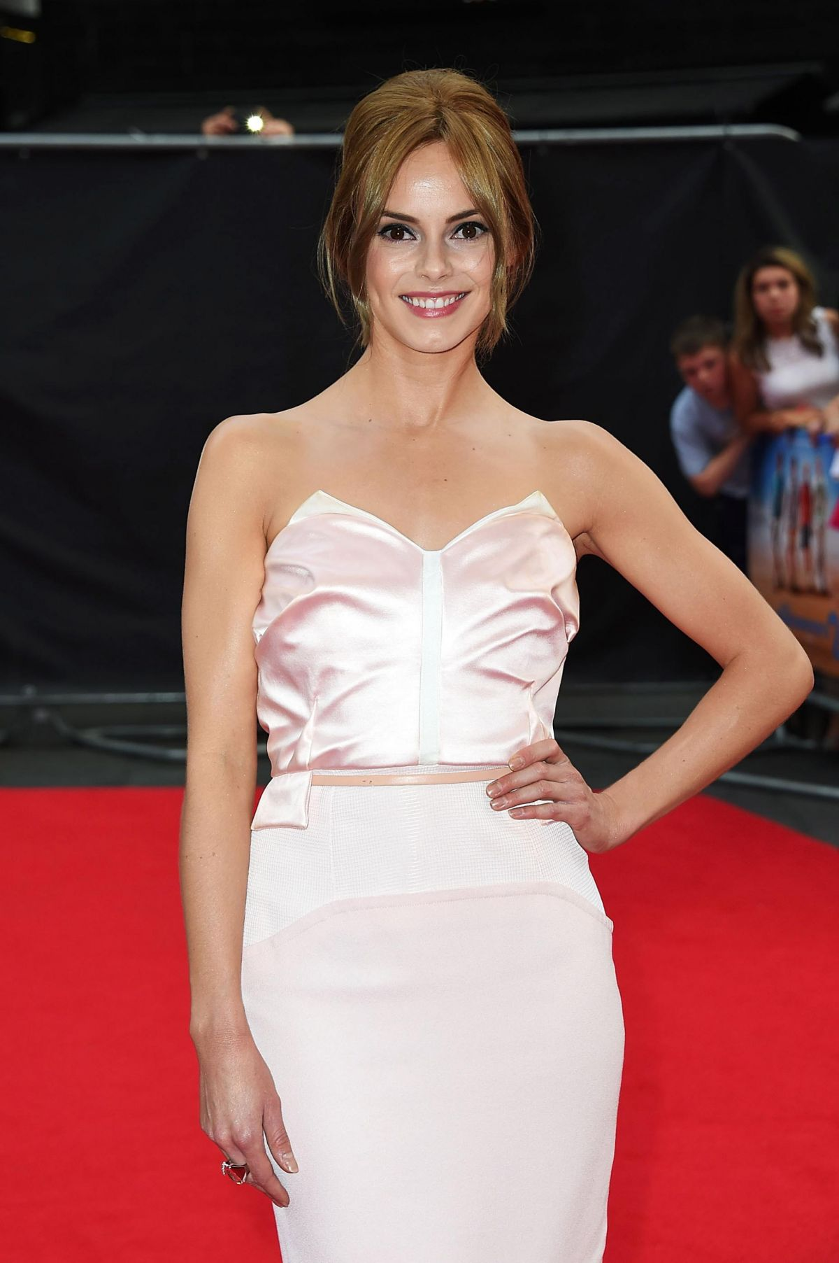 HANNAH TOINTON at The Inbetweeners 2 Premiere in London
