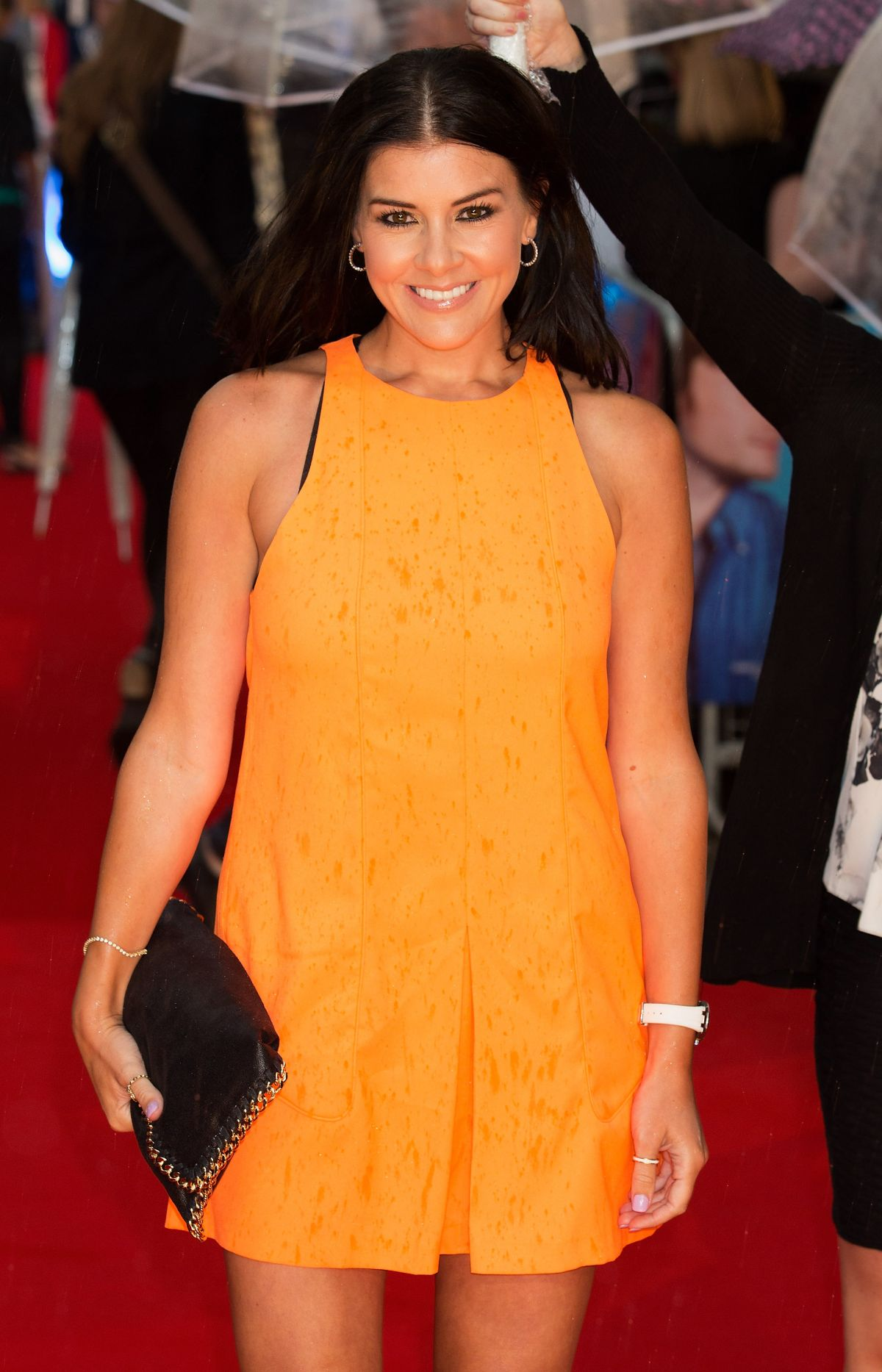 IMOGEN THOMAS at What If Premiere in London