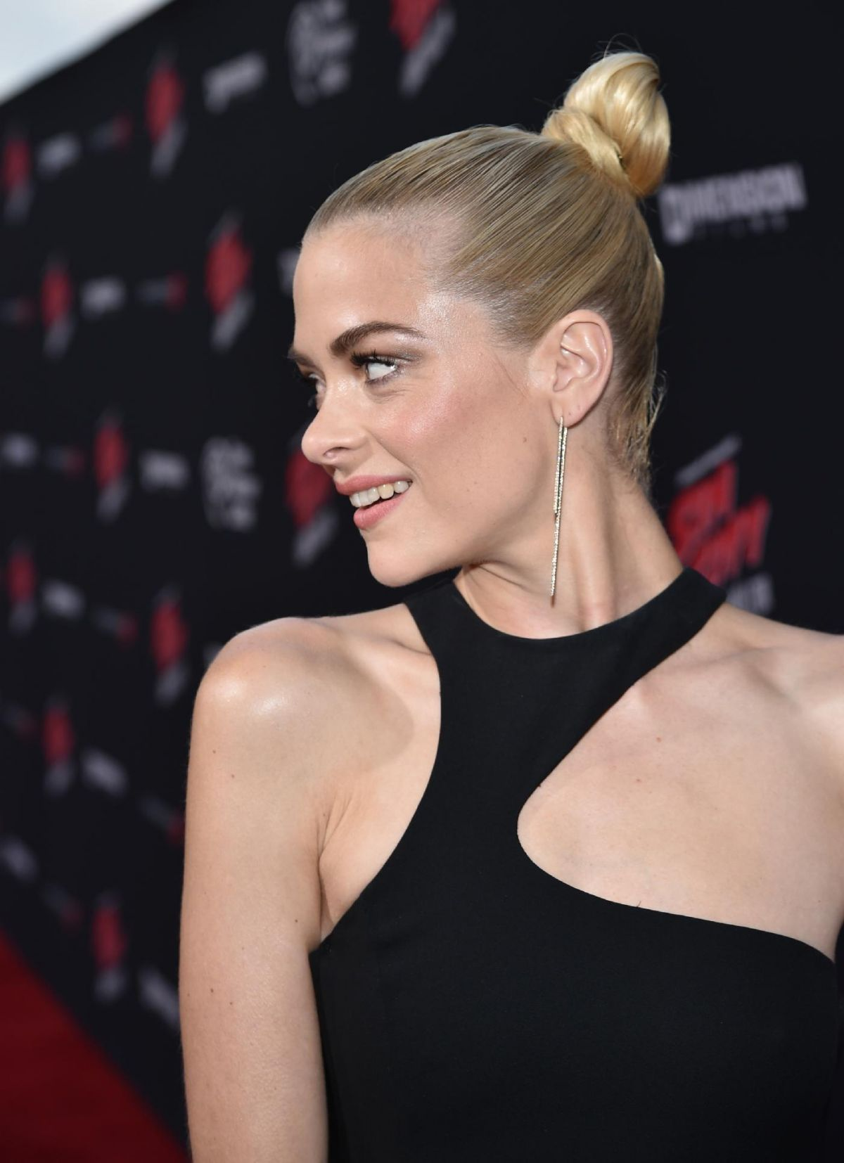 jaime king at sin city: a dame to kill for premiere in los angeles