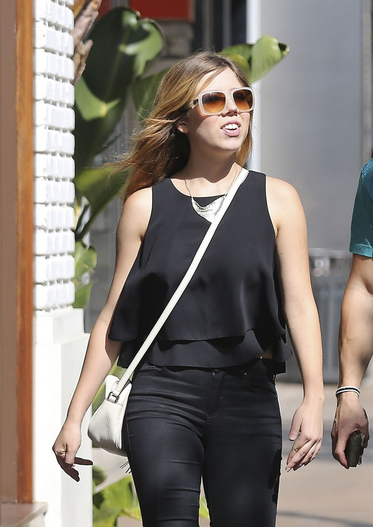 JENNETTE MCCURDY Out Shopping at the Grove