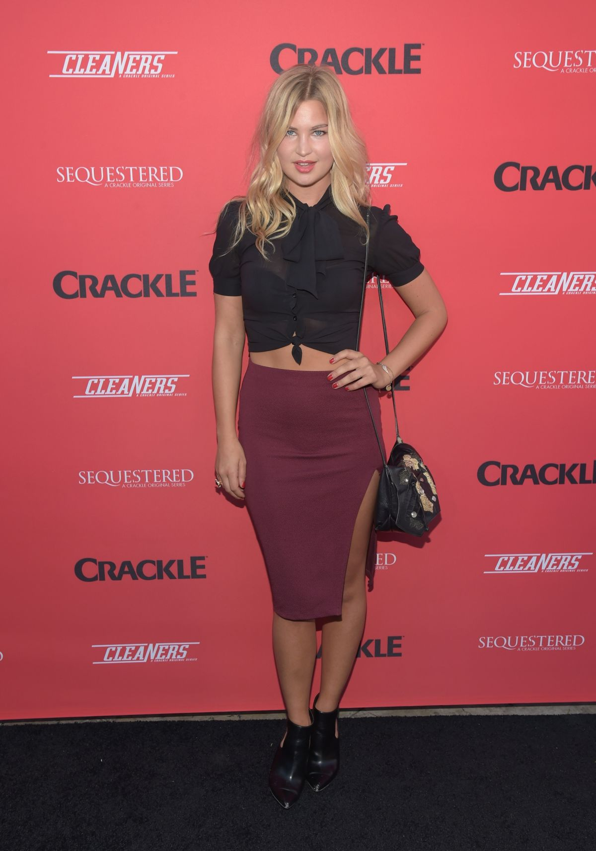 JENNIFER AKERMAN at Sequestered and Cleaners Premieres in West Hollywood