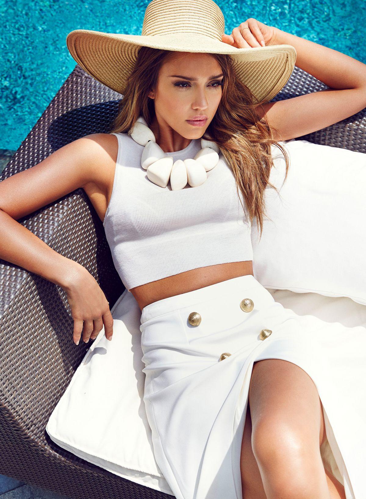 JESSICA ALBA in Cosmopolitan Magazine, Turkey August 2014