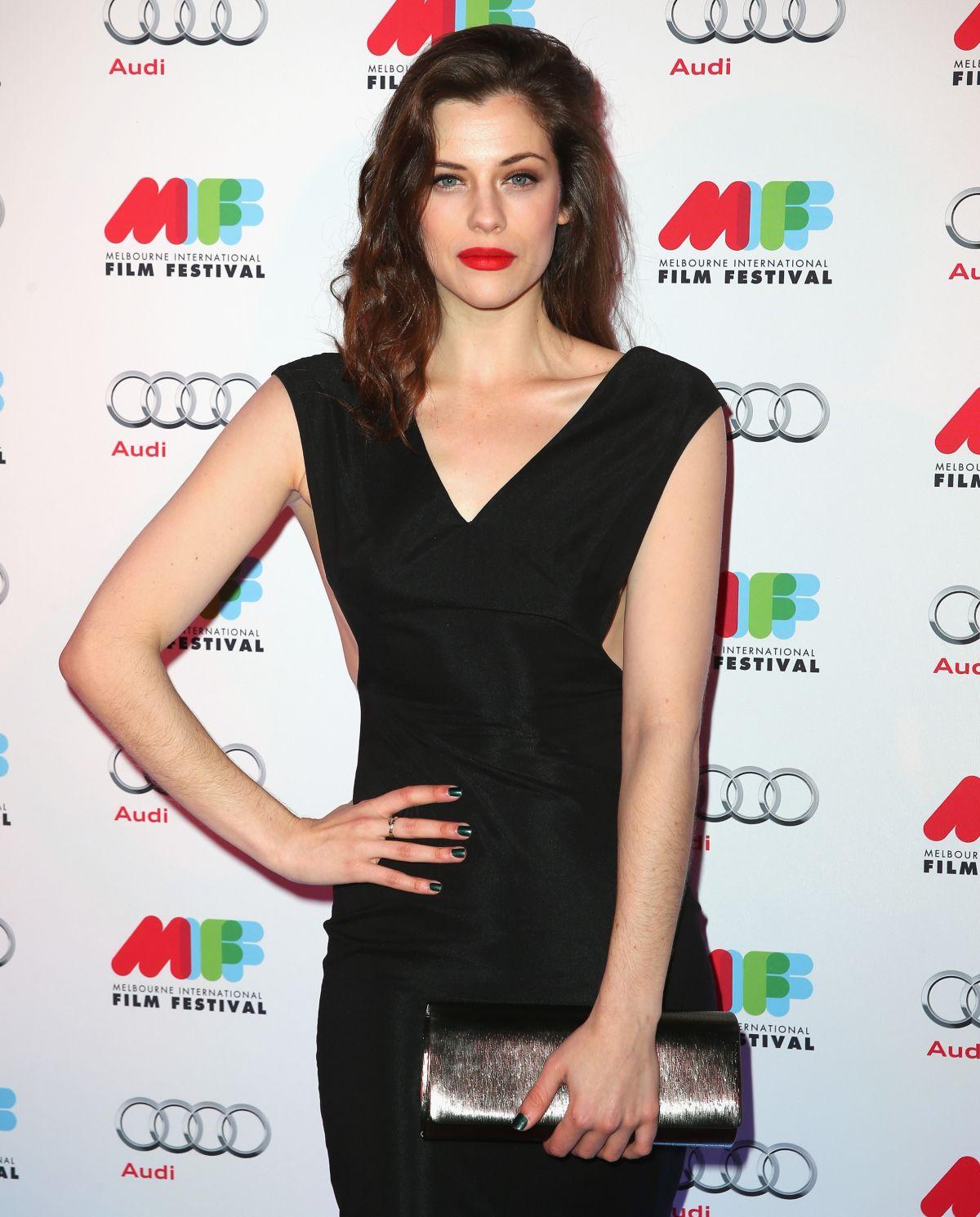 JESSICA DE GOUW at Melbourne International Film Festival Opening Ceremony